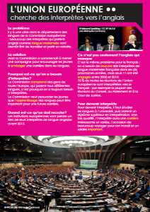 Ezine 1 - French Level 2 - The World of Work - L'Union Européenne